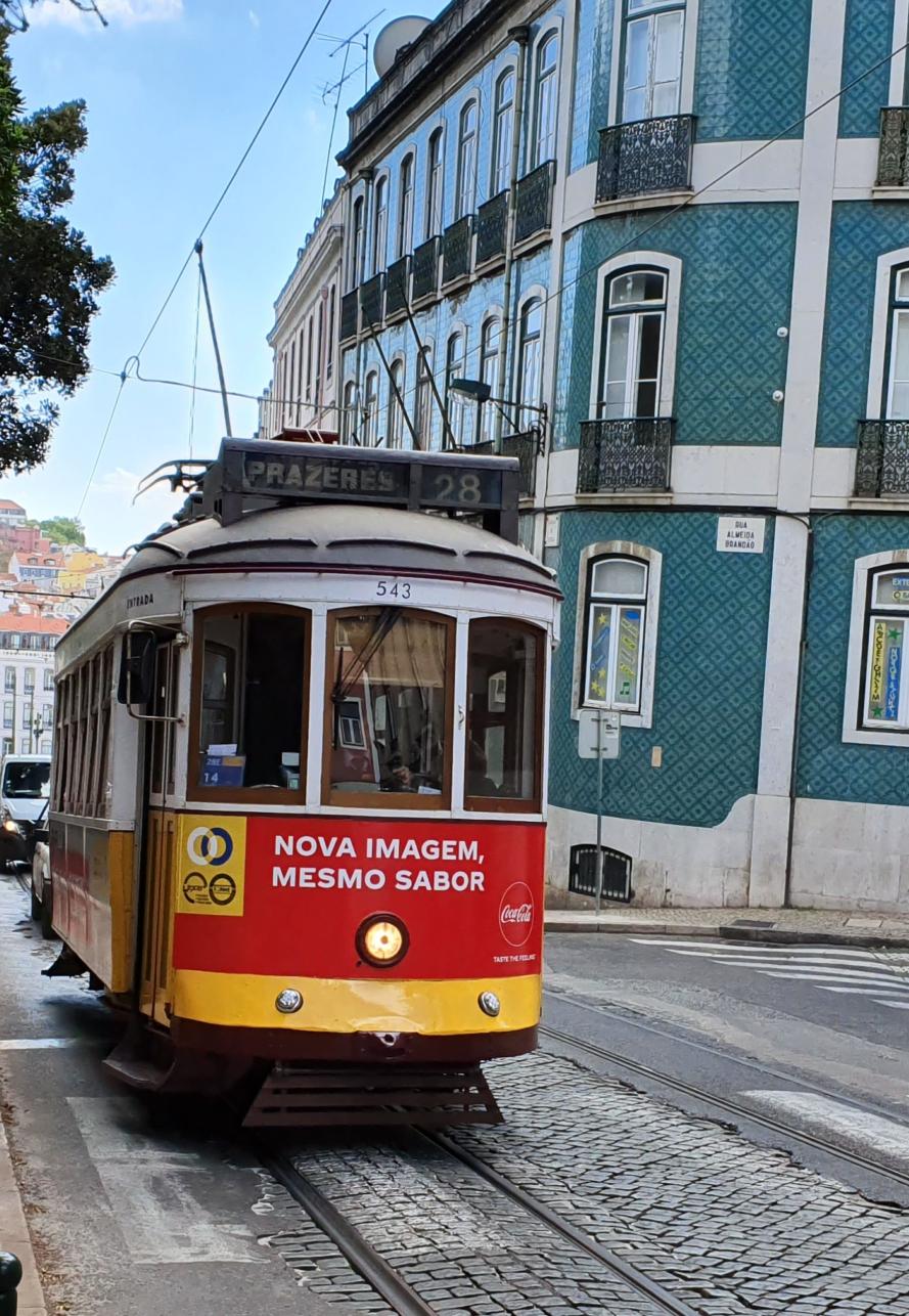 Strassenbahn 28 Lisboa Card