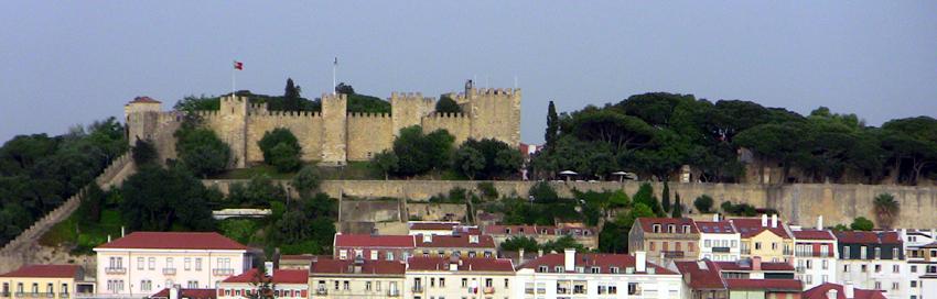 Alfama Sehenswürdigkeiten Castelo de São Jorge
