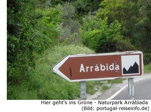 arrabiada Naturpark Lissabon