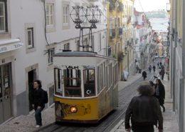 Ascensor Seilbahn Lissabon
