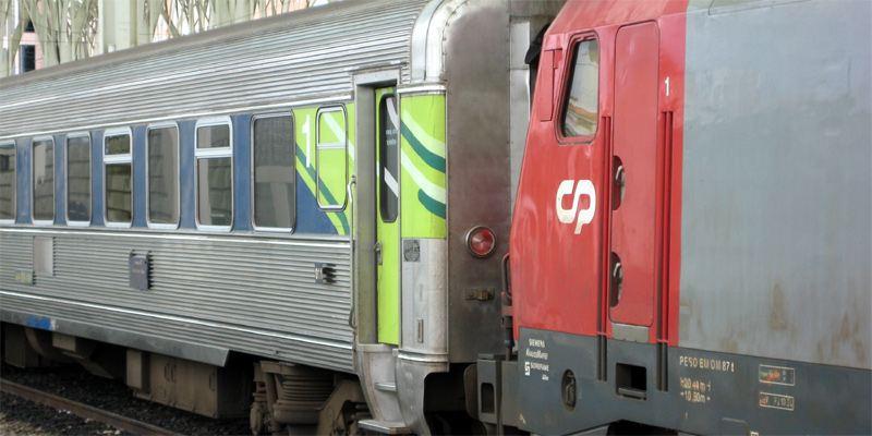 Zug Bahnhof Faro