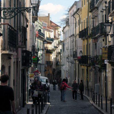 Bairro Alto Lissabon Stadtviertel