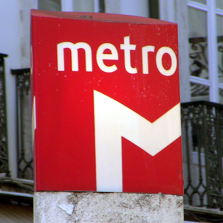 Metro Haltestelle Bairro Alto