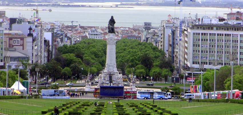 Baixa Stadtzentrum Lissabon