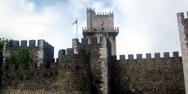 Beja Sehenswürdigkeit Kastell Burg