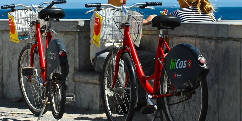 Bicas Fahrrad Cascais mieten leihen