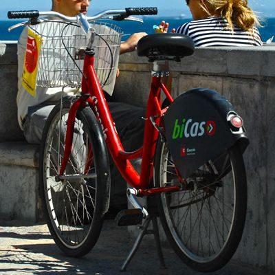 Fahrrad Tour Weg Bicas Cascais