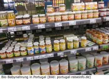 Baby Gläschen Nahrung Portugal