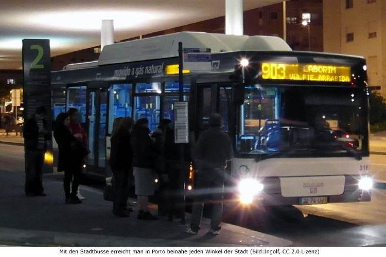 Bus Stadtbus Porto STCP