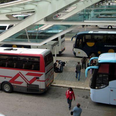 Busbahnhof Lissabon