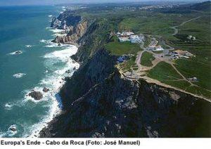 Cabo da Roca Küste Lissabon