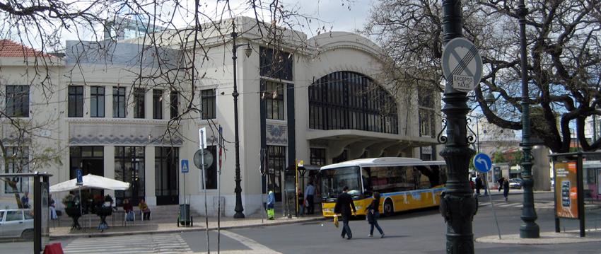 Bahnhof Cais do Sodré Lissabon