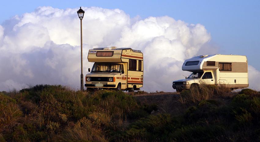 Camping wild Portugal Strafen