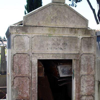 Cemitério Prazeres Friedhof Lissabon