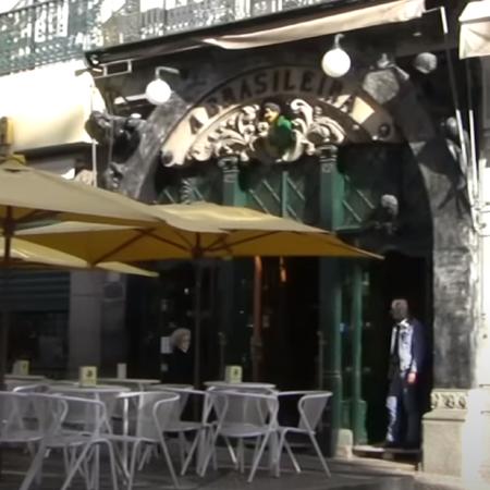 Chiado Sehenwürdigkeit Café