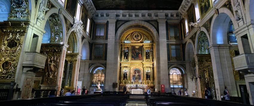 Chiado Sehenswürdigkeit Igreja de São Roque