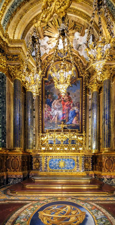 Chiado Lissabon Kirche innen