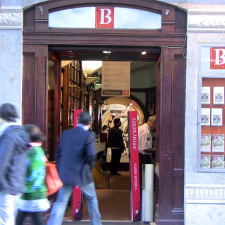 Chiado Shopping Einkaufen Betrand Buchhandlung