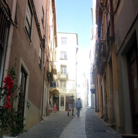 Coimbra Sightseeing Altstadt