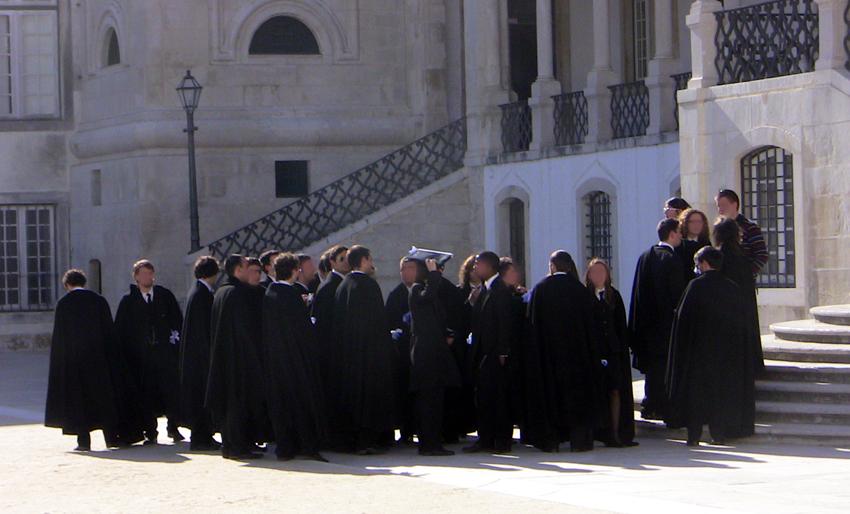 Coimbra Studentenstadt Portugal Sehenwürdigkeiten