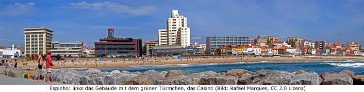 Praia de Espinho Strand Porto Zug Nahverkehr