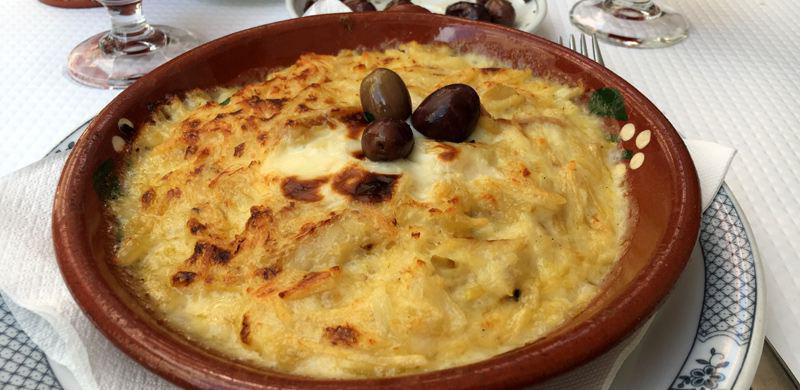 Portugal typisches Essen Bacalhau