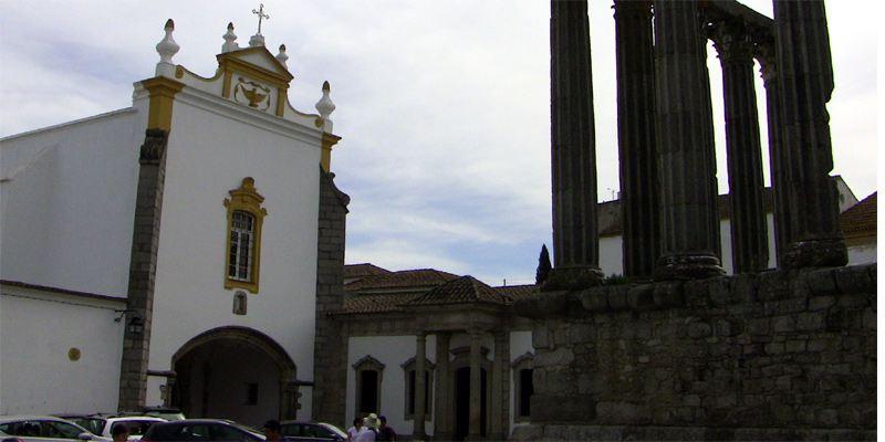 Evora Sehenswürdigkeit Tempel