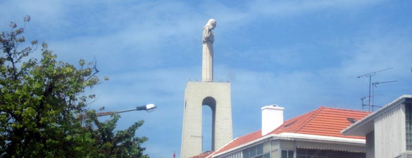 Christo Rei Statue Fähre Bus Lissabon