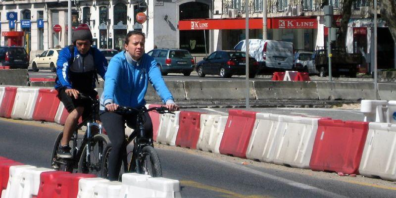 Fahrrad Lissabon Radweg