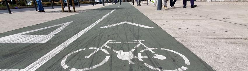 Fahrradweg Portugal