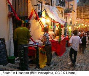 Event Festa Lissabon Veranstaltung Fest