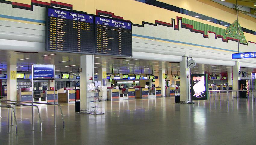 FLughafen Faro Terminal