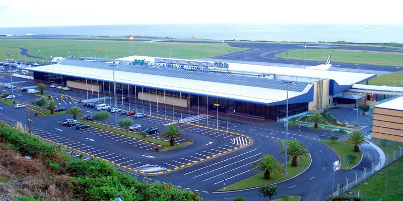 Flughafen Azoren Johannes Paul II Joao