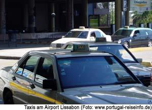 Taxi Flughafen Lissabon Preis Voucher