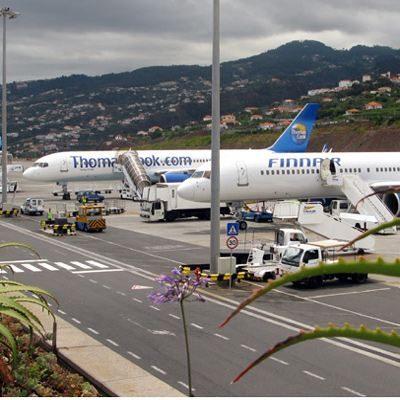 Flughafen Madeira FNC