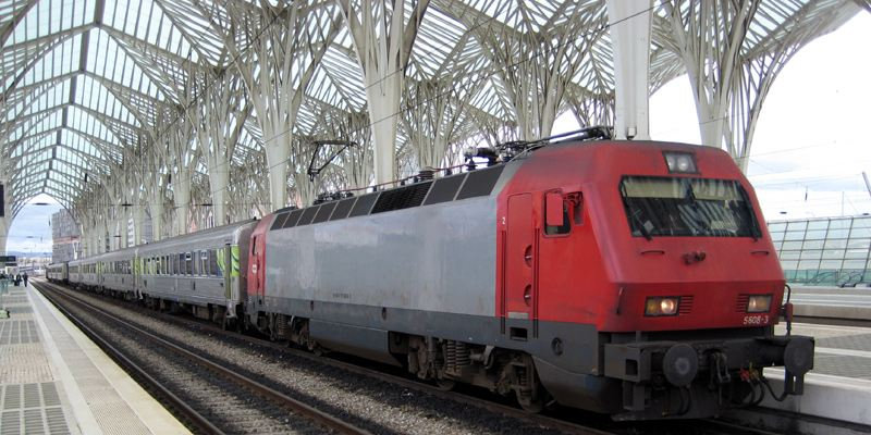 Bahnhof Oriente Lissabon