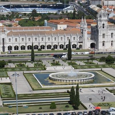 Hieronymuskloster (Mosteiro dos Jerónimos) in Lissabon