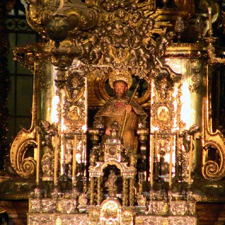 Jakobsweg Portugal Ziel Santiago de Compostela
