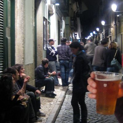 Lissabon Nightlife Party