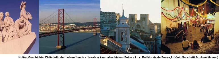 Lissabon - Reiseführer Informationen Tipps für Urlauber