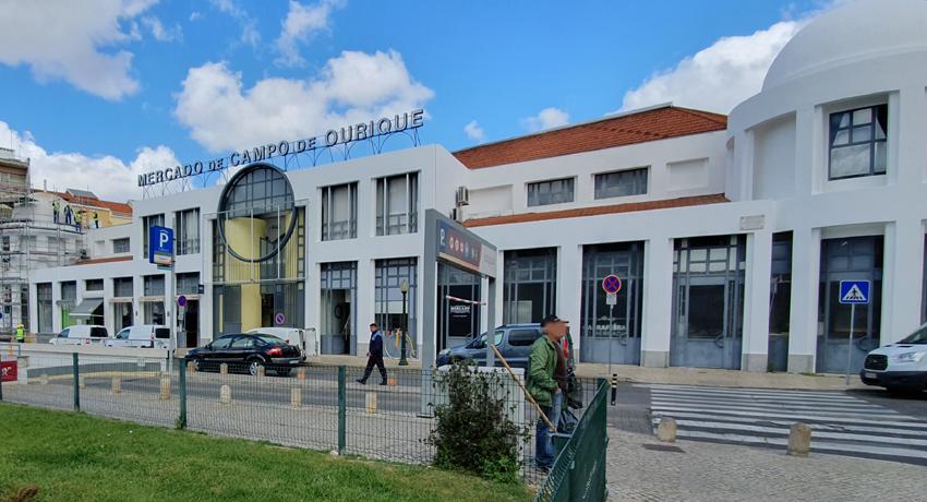 Markthalle Campo Ourique Lissabon