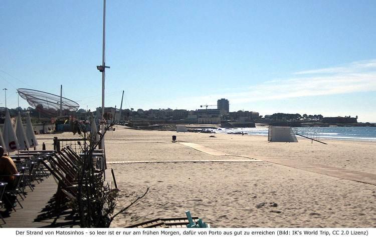 Matosinhos Strand Umgebung Porto
