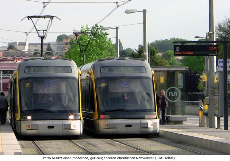 Nahverkehr ÖPNV Porto