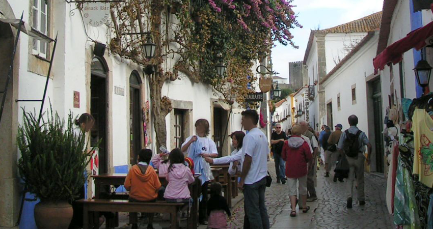 Óbidos Stadt Portugal