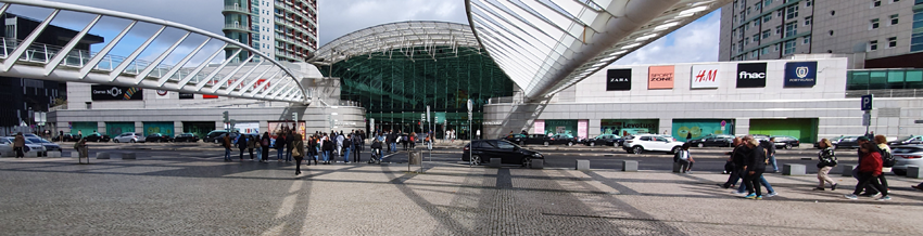 Ozeanarium Metro Anreise Oriente Nahverkehr Lissabon