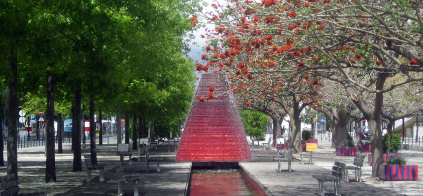 Parque das Nações Spazieren
