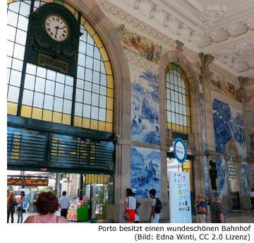 Bahnhof Zug Porto Alfa Anreise Estação de Campanhã