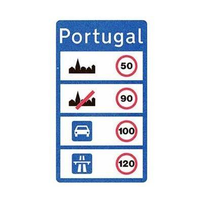 Portugal Verkehrsregeln Geschwindigkeitslimit