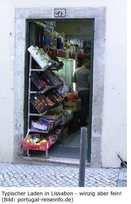 Portugal Einkaufen Preise