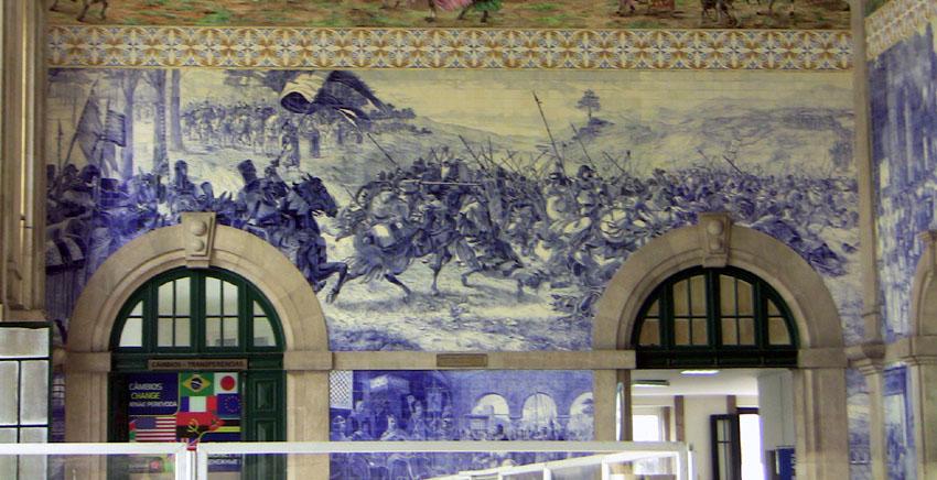 Porto Reiseführer Bahnhof